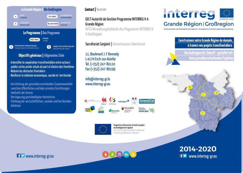 flyer Interreg V A GR