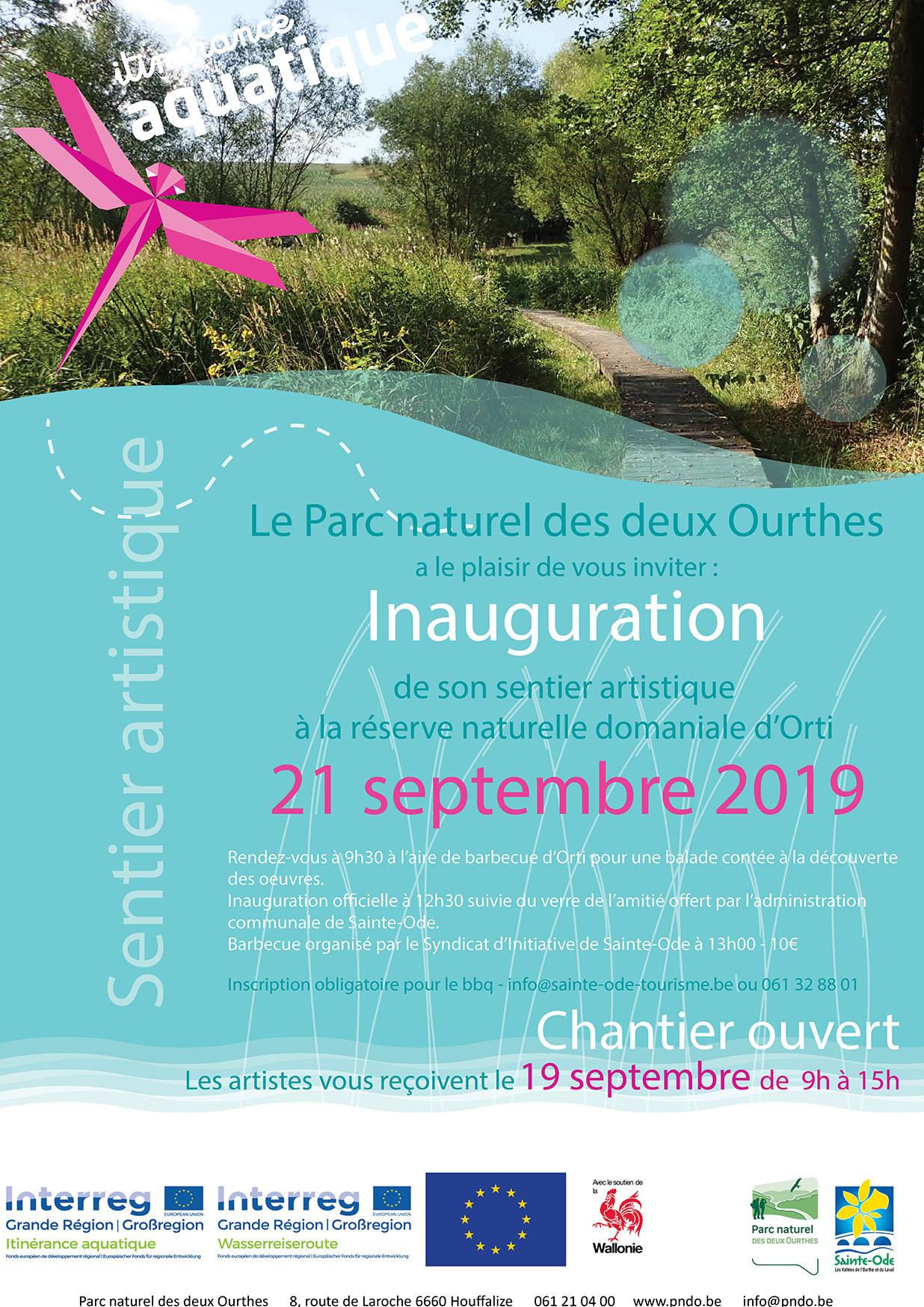 itinérance aquatique inauguration