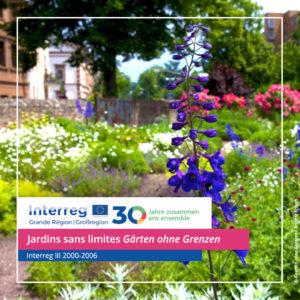 Interreg Jardins sans frontières