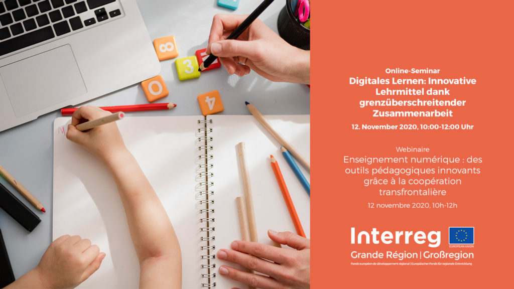 webinaire education bildung interreg grande region grossregion