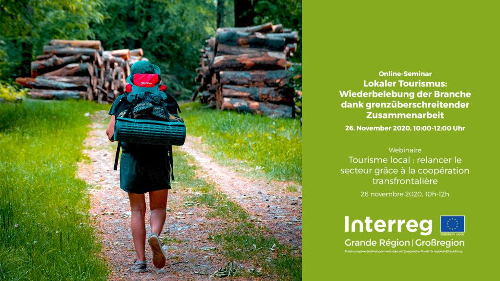 webinaire lokaler tourismus tourisme local interreg