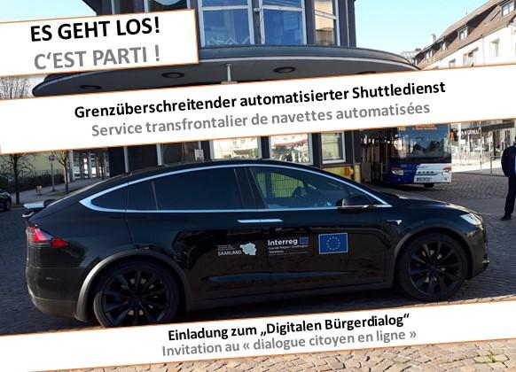 TERMINAL automatisiertes Fahrzeug