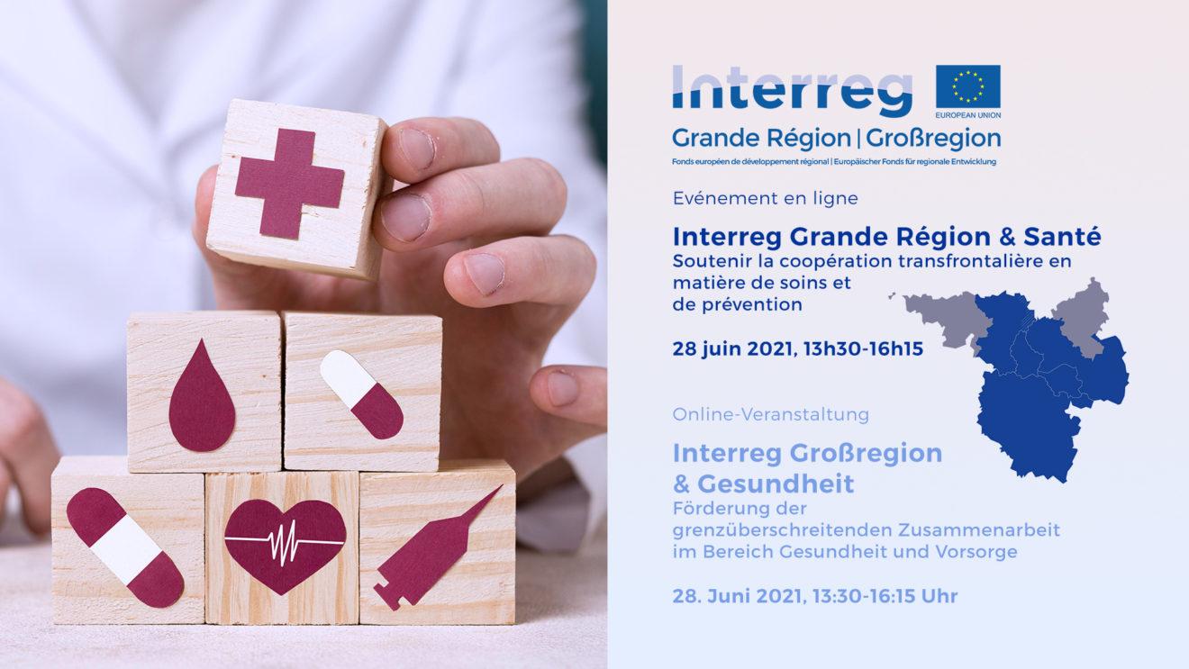 Webinaire Santé Interreg GR Online Seminar Interreg GR Gesundheit