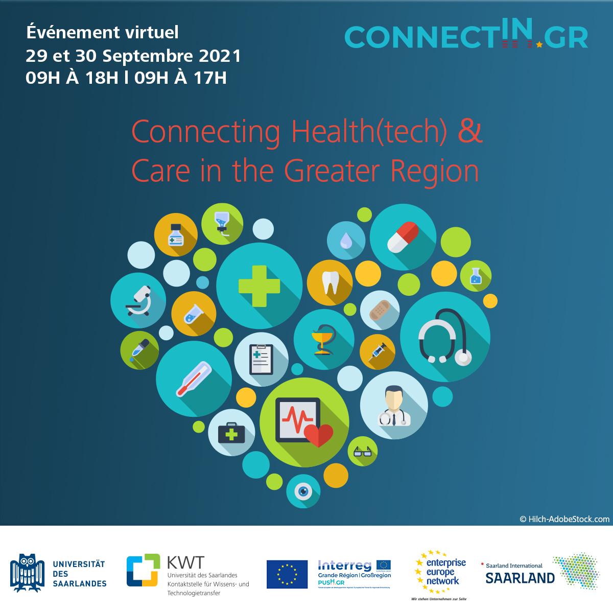 ConnectInGR - Connecting Health(tech) & Care in the Greater Region